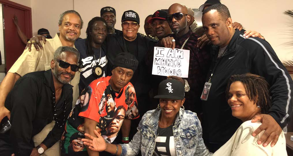 Minister Farrakhan with Public Enemy